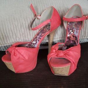 Qupid platform heels